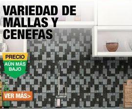 Oferta de VARIEDAD DE MALLAS Y CENEFAS por