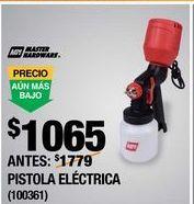 Oferta de PISTOLA ELÉCTRICA DE 900 ML NEGRO MASTER HARDWARE por $1065