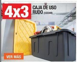 Oferta de CAJA DE USO RUDO 4 X 3 por