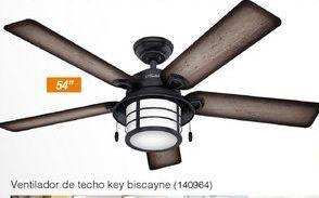 Oferta de Ventilador de techo Key Biscayne por