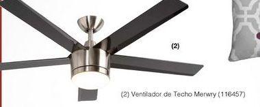 Oferta de Ventilador de techo por