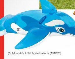 Oferta de Flotador inflable de ballena por
