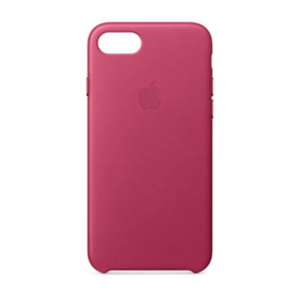 Oferta de Funda Apple iPhone 7-8-SE Piel Rosa Fucsia por $1099