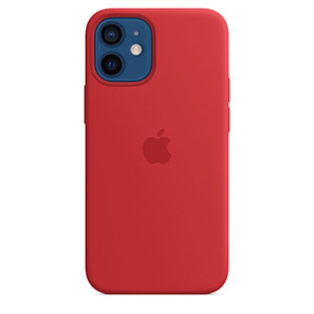 Oferta de Funda Apple iPhone 12 Mini Silicon MagSafe (PRODUCT)RED por $649