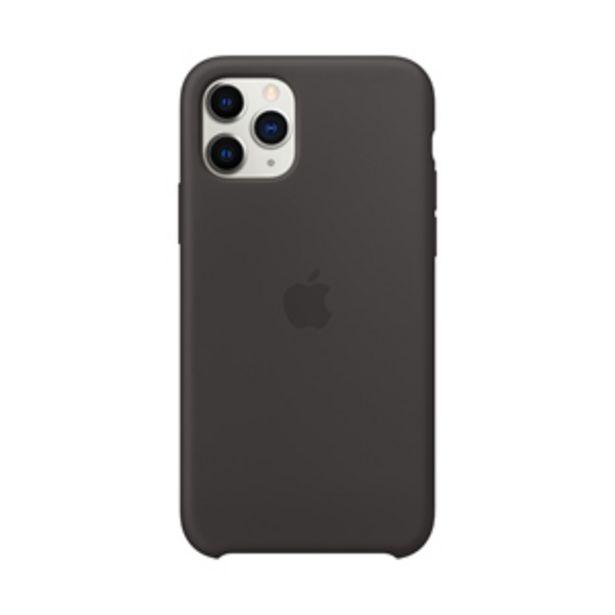 Oferta de Funda Apple MWYN2ZM/A Silicone  iPhone11 Pro Negro por $1199