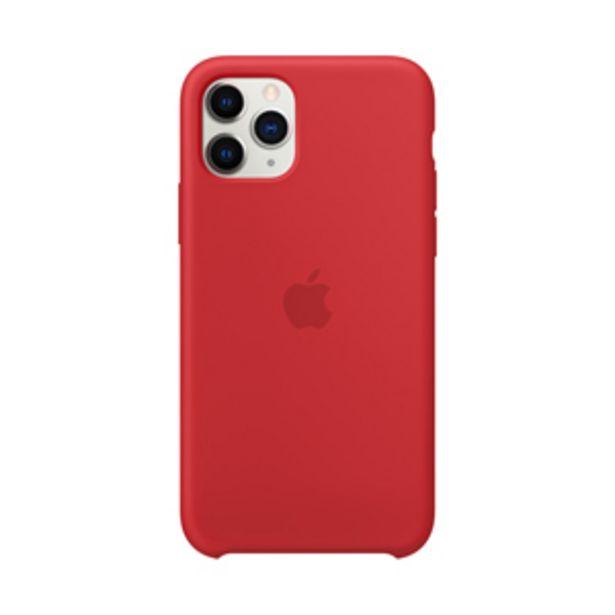 Oferta de Funda Apple Silicone  iPhone11 Pro (PRODUCT) Rojo por $1199