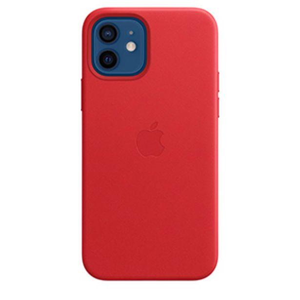 Oferta de Funda Apple iPhone 12 / 12 Pro Leather MagSafe (PRODUCT)RED por $1699