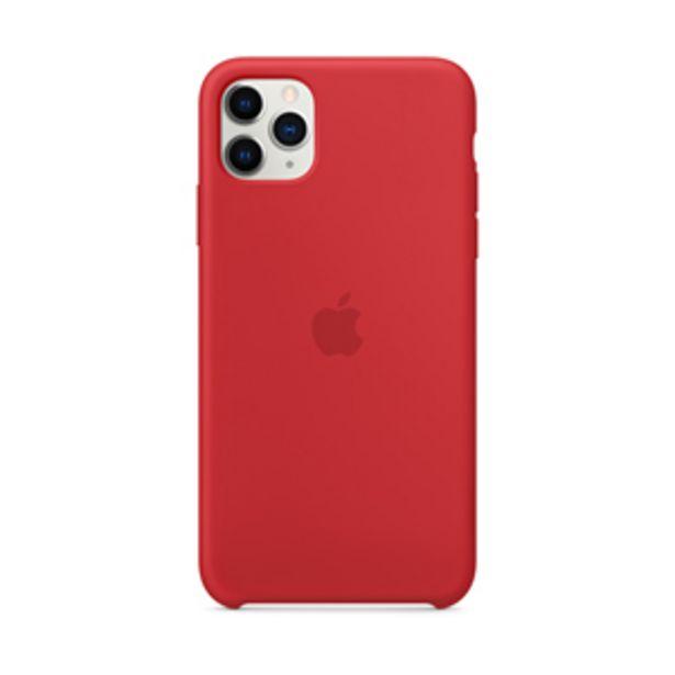 Oferta de Funda Apple MWYV2ZM/A Silicone  iPhone11 ProMax (PRODUCT)RED por $1199