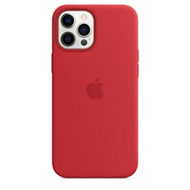Oferta de Funda Apple iPhone 12 Pro Max Silicon MagSafe (PRODUCT)RED por $649