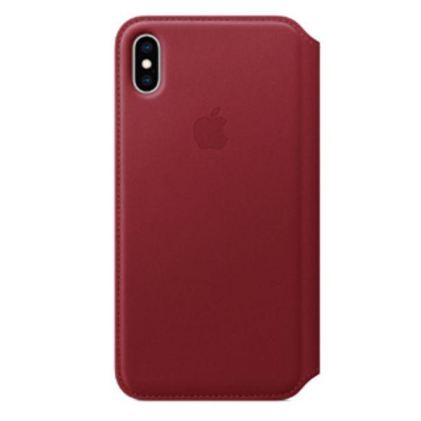 Oferta de Funda Apple Leather Folio   iPhoneXSMax - (PRODUCT)RED por $2999