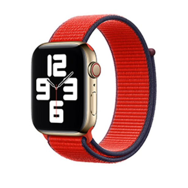 Oferta de Correa Apple Loop Deportiva PRODUCT RED 38/40mm por $1199