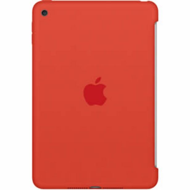Oferta de Funda Apple Silicone p/iPad Mini 4 Naranja por $1299