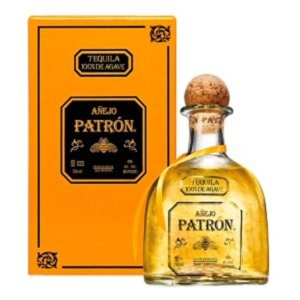 Oferta de TEQUILA PATRÓN AÑEJO 750ML por $765