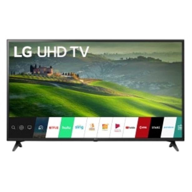 Oferta de TELEVISOR LED LG SMART 4K UHD AL THINQ por $12999