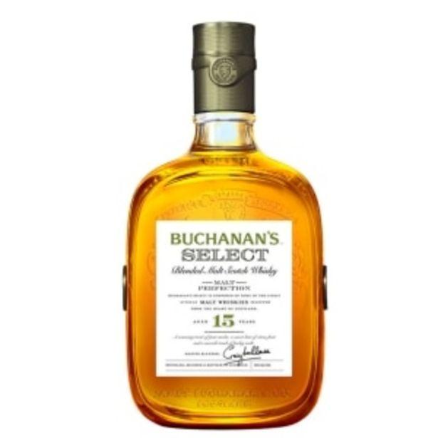 Oferta de WHISKY BUCHANANS 15 AÑOS 750ML por $1169