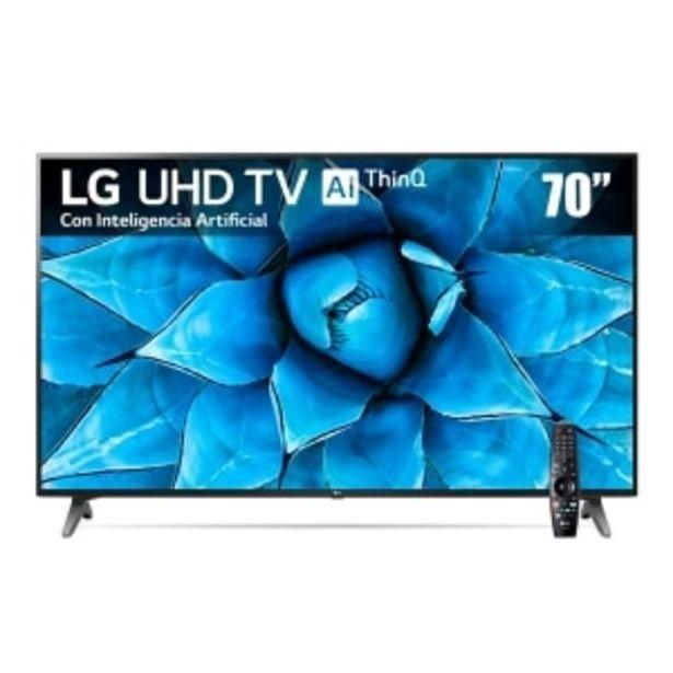 Oferta de PANTALLA LED LG 70' 4K UHD SMART TV WEBOS por $26999