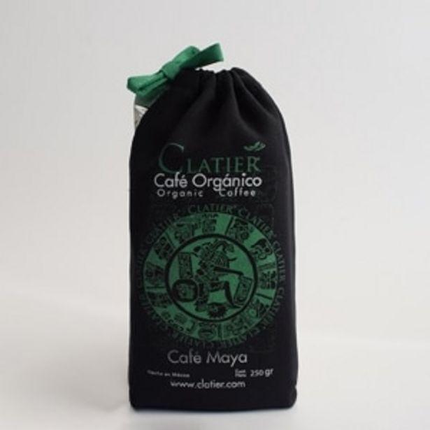Oferta de CAFÉ MOLIDO ORGÁNICO 250GR CLATIER por $99