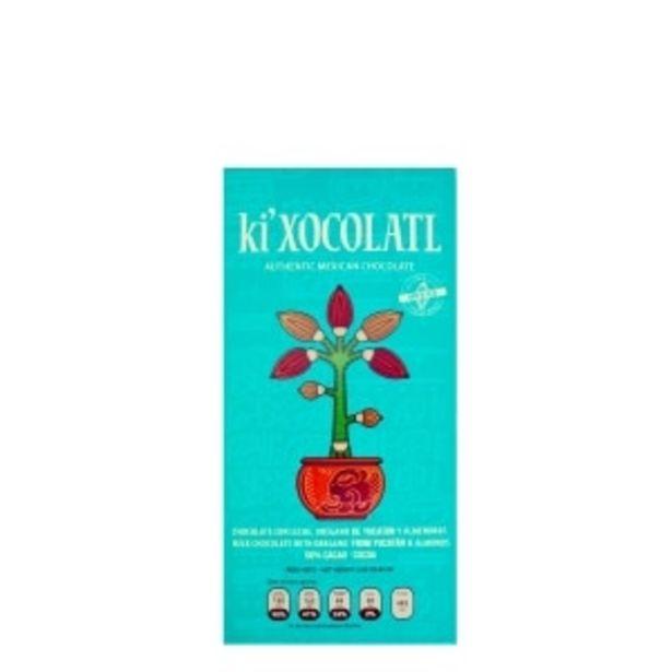 Oferta de BARRA DE CHOCOLATE VERDE 80GR KI'XOCOLATL por $80