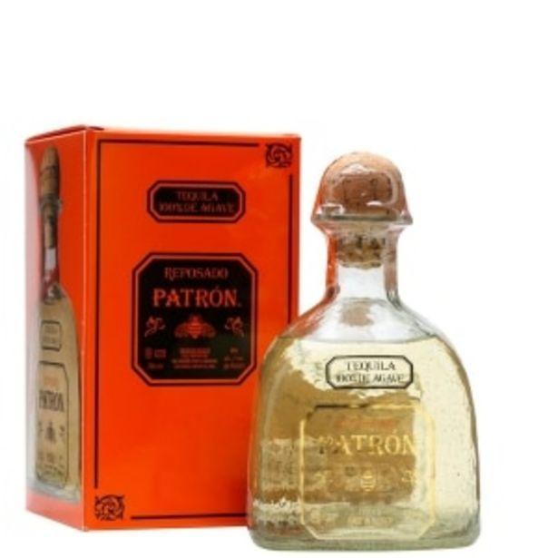 Oferta de TEQUILA PATRÓN REPOSADO 750ML por $745