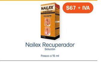 Oferta de NAILEX EL RECUPERADOR SOL FCO CAJ C/ 1 por $67
