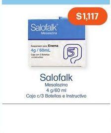 Oferta de SALOFALK ENEMA CAJ C/3 por $1117