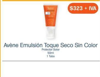 Oferta de AVENE EMU TOQUE SECO S/COLOR TUB C/50ML por $323