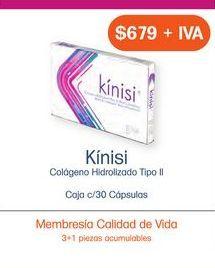 Oferta de KINISI CAP CAJ C/30 por $679