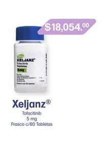 Oferta de XELJANZ 5 mg TAB FCO C/60 por $18054