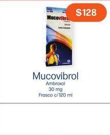 Oferta de MUCOVIBROL SOL FCO C/120ML por $128