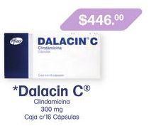 Oferta de DALACIN C 300MG CAP CAJ C/16 por $446