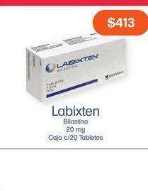 Oferta de LABIXTEN 20MG TAB CAJ C/20 por $413