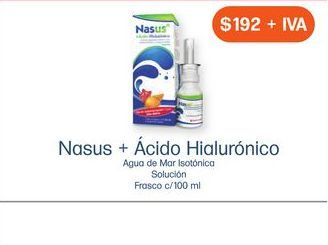 Oferta de NASUS Hialuronico por $192