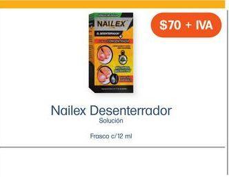 Oferta de NAILEX EL DESENTERRADOR SOL FCO CAJ C/ 1 por $70