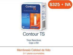 Oferta de CONTOUR TS TIR/REACT CAJ C/50 por $325