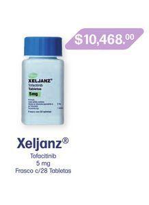Oferta de XELJANZ 5 mg TAB FCO C/28 por $10468