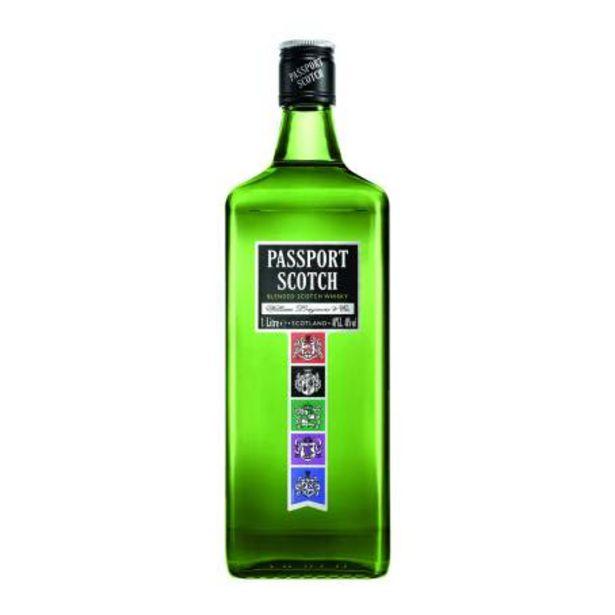 Oferta de Whisky Passport Scotch 1 l por $172.89
