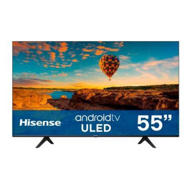 Oferta de Pantalla Hisense 55 Pulgadas ULED U6 Android TV por $14934.78