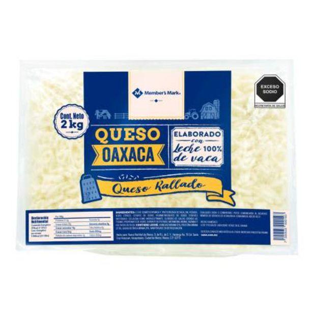 Oferta de Queso Oaxaca Member's Mark Rallado 2 Kg por $254.72