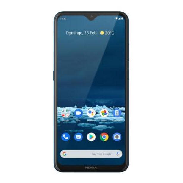Oferta de Smartphone Nokia 5.3 Azul Desbloqueado + Earbuds Lite por $6136.97
