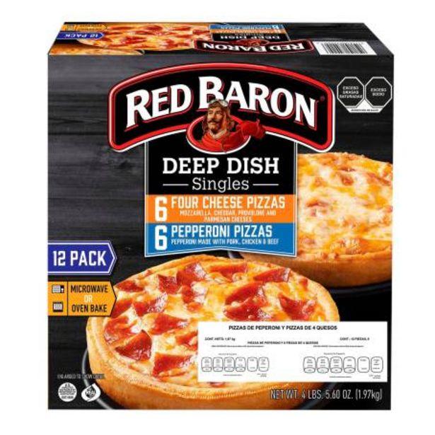 Oferta de Pizza Red Baron 1.97 Kg por $305.87