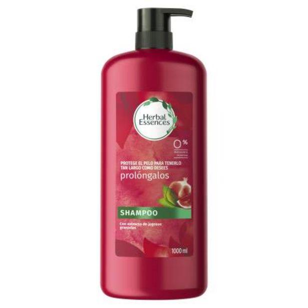 Oferta de Shampoo Herbal Essences Prolóngalo 1 l por $66.5