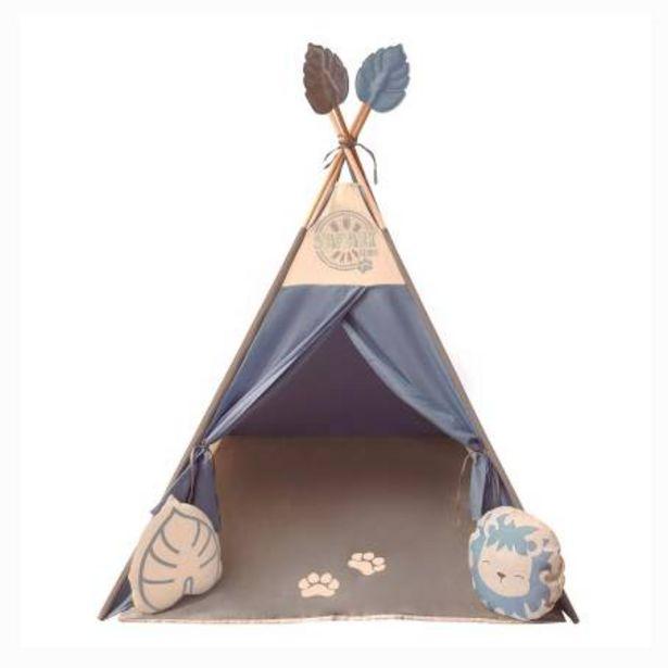Oferta de Teepee de Tela Kaqoo Azul por $1226.57