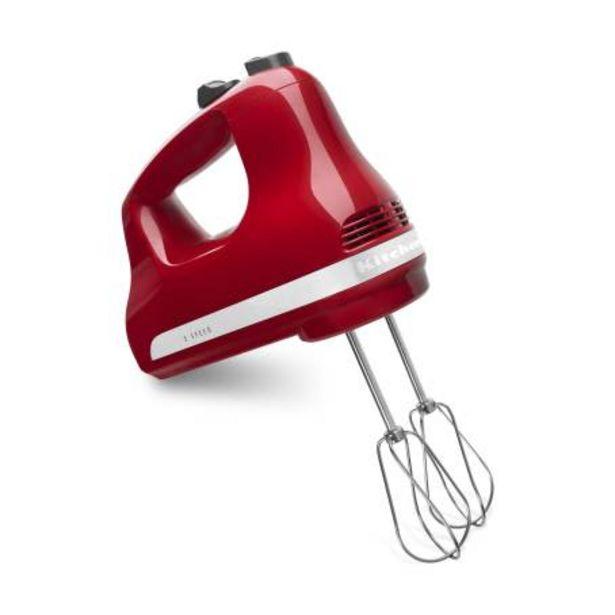 Oferta de Batidora de Mano KitchenAid 5 Velocidades Rojo por $1328.86