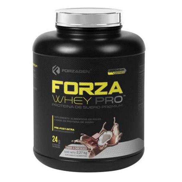 Oferta de Proteína Forzagen Whey-Pro Sabor Choco Coco 2.27 kg por $1099.71