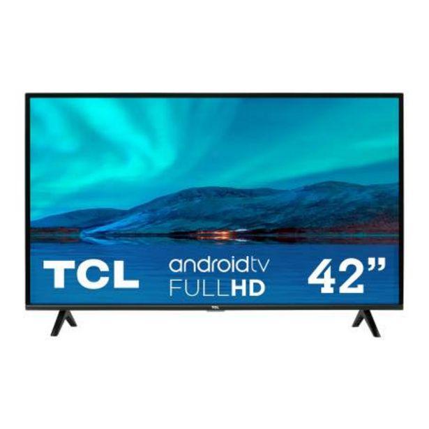 Oferta de Pantalla TCL 42 Pulgadas FHD Android TV 42A342 por $6341.58