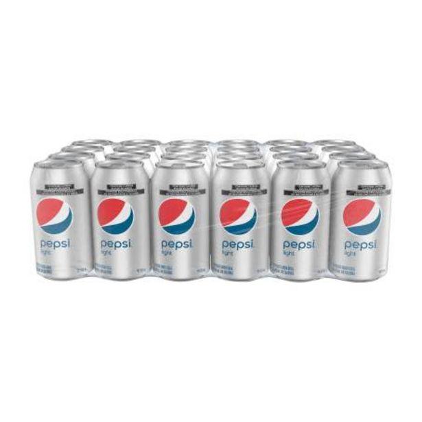 Oferta de Refresco Pepsi Light 24 pzas de 355 ml por $200.51