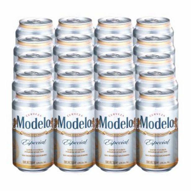 Oferta de Cerveza Clara Modelo Especial 24 Latas de 355 ml por $295.65