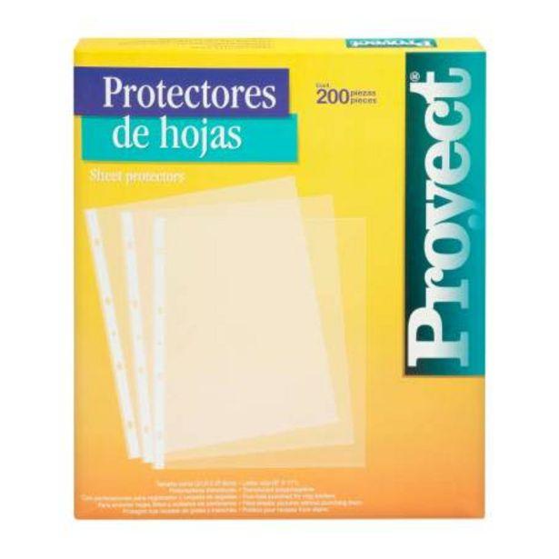 Oferta de Protector de Hojas Azor Proyect Carta 200 pzas por $138.09