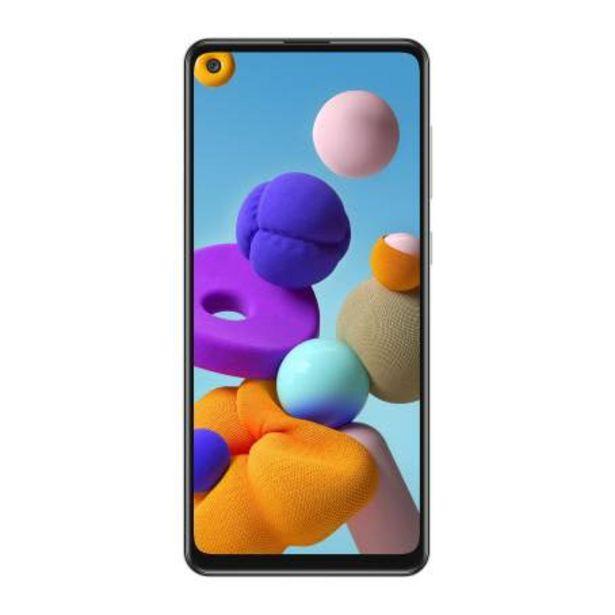 Oferta de Smartphone Samsung A21S Silver por $5113.98