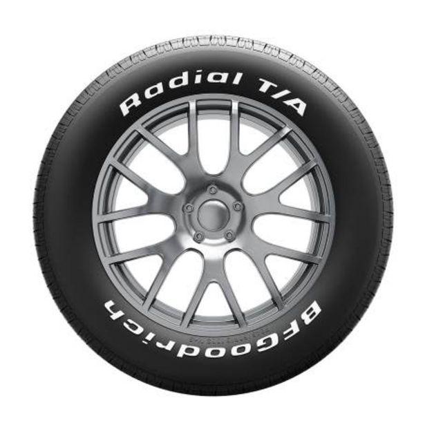 Oferta de Llanta BFGoodrich Radial T/A 245/60 R14 98S por $2812.21